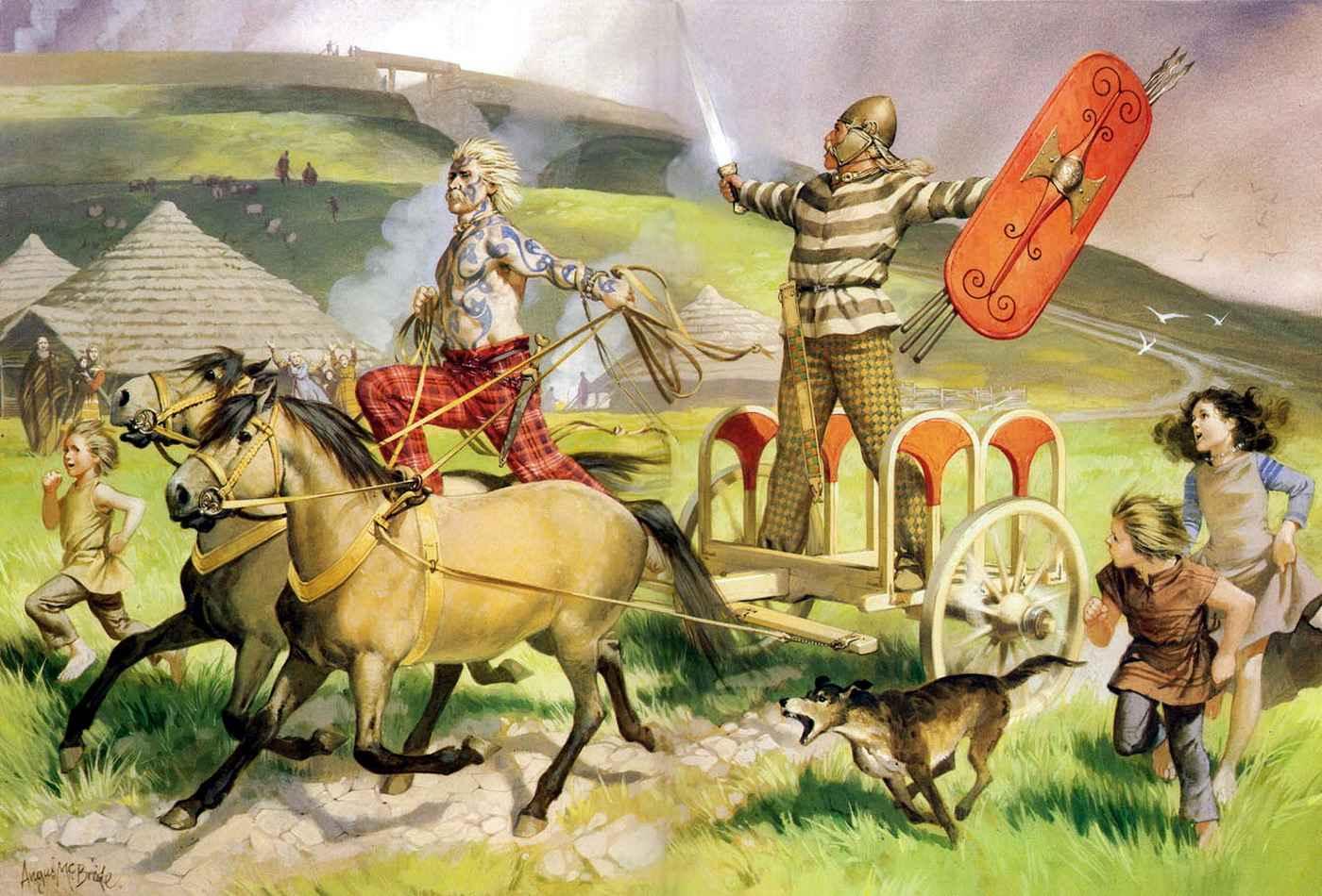 Кельти - пращури бойків