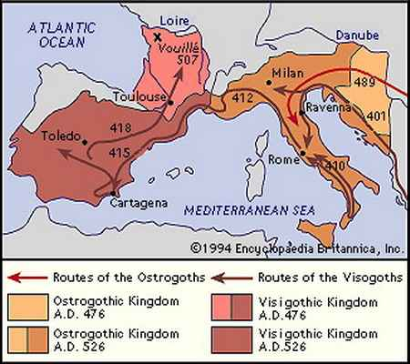 the evolution of gothic people and ostrogoths since the third century During the third century, the larger gothic the barbarian king in italy since the ostrogoths ceased to be an independent people, and the last of the.