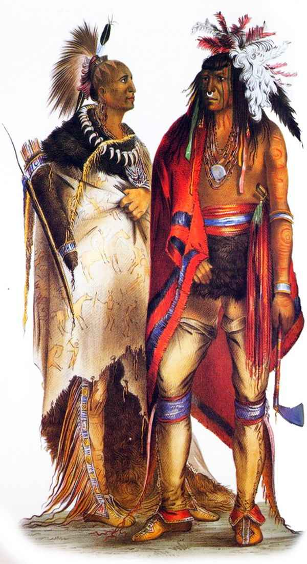 cherokee after their defeat at the hands of the iroquois and delaware