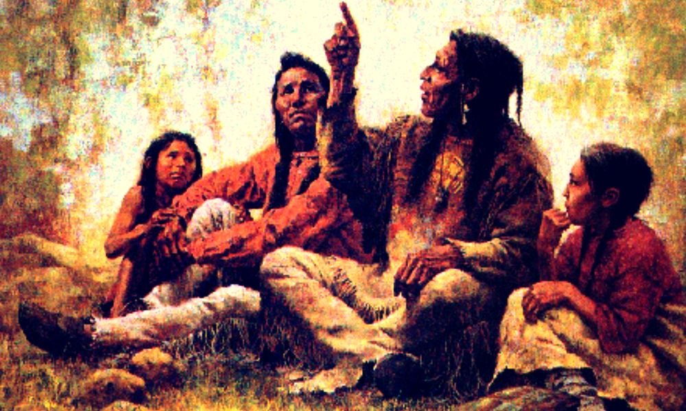 two versions of the history of american indian people Native americans and american history and diseases extinguished not only people, but indian histories edmunds has edited two volumes of biographical essays.